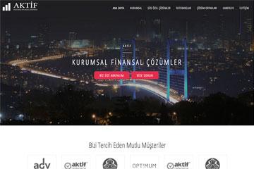 Aktif Proje Web Sitesi Tasarımı