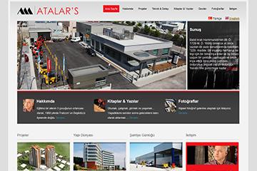 Alparslan Atalar Web Sitesi Tasarımı