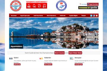 Aquamasters Web Sitesi Tasarımı
