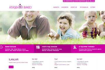 Ataşehir Bakıcı Web Sitesi Tasarımı