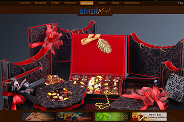 Bimera Ambalaj Web Sitesi Tasarımı