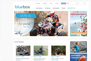 Blue Box E-ticaret Web Sitesi Tasarımı