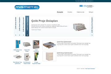 Çelik Dolap Web Sitesi Tasarımı