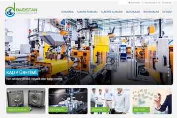 Dağıstan Kalıp Web Sitesi Tasarımı