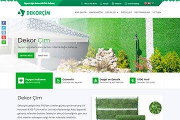 Dekorçim Web Sitesi Tasarımı