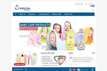 Delta Brands Web Sitesi Tasarımı