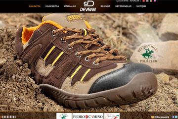 Devran Ayakkabı Web Sitesi Tasarımı