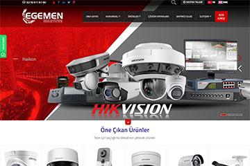 Egemen Elektronik Web Tasarım | Egemen Web Sitesi