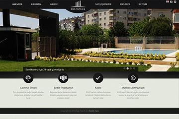 Egs Yapı İnşaat Web Sitesi Tasarımı