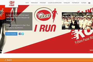 Eker Koşu Web Sitesi Tasarımı