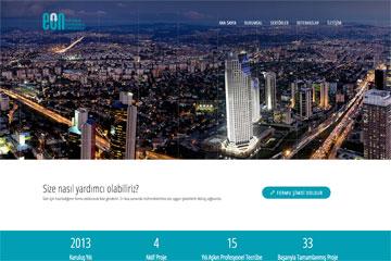 EON Danışmanlık Web Sitesi Tasarımı