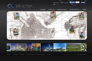 Erk Altyapı Web Sitesi Tasarımı