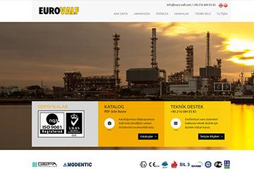 Eurovalf Web Sitesi Tasarımı