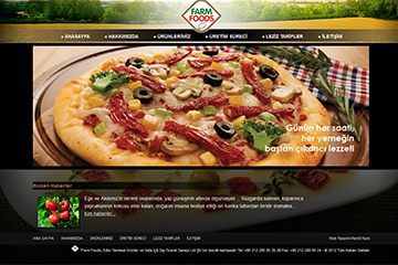 Farm Foods web tasarim