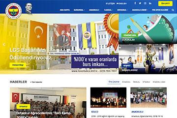 Fenerbahçe Koleji Web Sitesini yeniledik