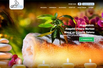 FM Masaj Web Sitesi Tasarımı
