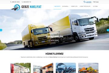 Gebze Nakliyat Web Sitesi Tasarımı