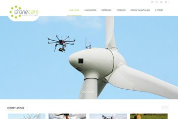 Drone Care Web Sitesi Tasarımı