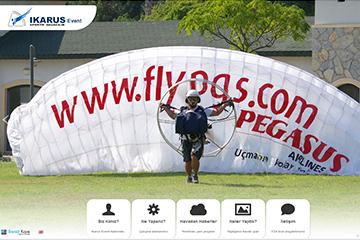 Ikarus Event Web Sitesi Tasarımı