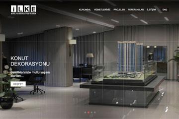 İlke İnşaat Web Sitesi Tasarımı