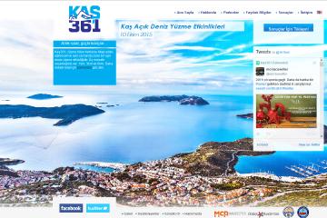 Kaş 361 Web Sitesi Tasarımı