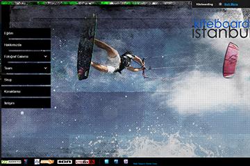 Kiteboard İstanbul Web Sitesi Tasarımı