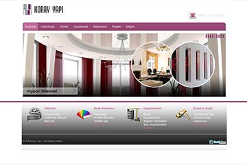 Koray İnşaat Web Sitesi Tasarımı