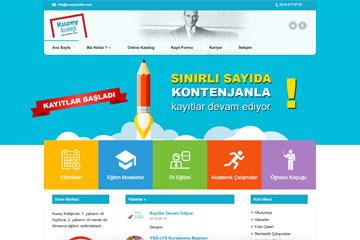 Kuzey Koleji Web Sitesi Tasarımı