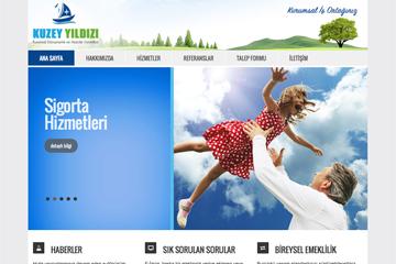 Kuzey Yıldızı Web Sitesi Tasarımı