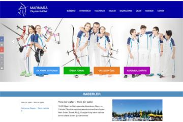 Marmara Okçuluk Web Sitesi Tasarımı
