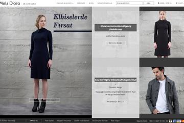 Mela D'oro Web Sitesi Tasarımı