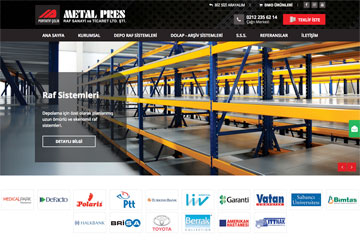 Metal Pres Web Sitesi