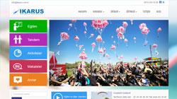 Mobil dostu altyapısı ile www.ikarus.com.tr  yayında!