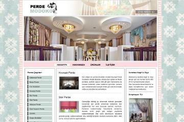 Modoko Perde Web Sitesi Tasarımı