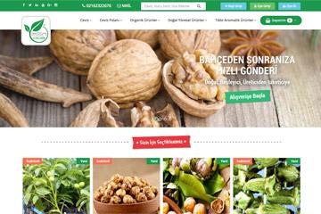 Msn Gıda E-ticaret Web Sitesi Tasarımı