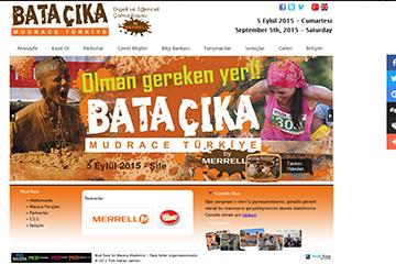Mud Race Web Sitesi Tasarımı