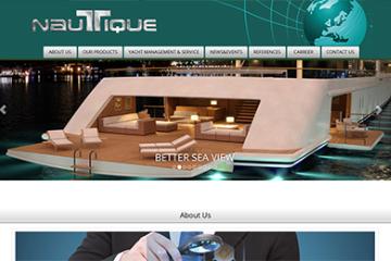 Nautique Yat Üretim Web Sitesi Tasarımı