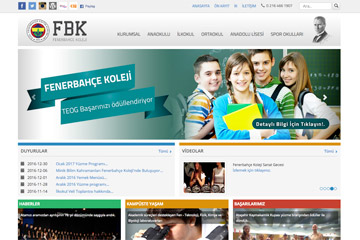 Okul Web Sitesi Tasarımı