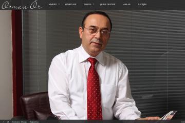 Osman Ör Web Sitesi Tasarımı