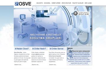 Osve Soğutma Web Sitesi Tasarımı