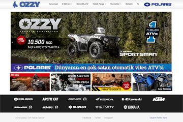 ATV Yedek Parça Web Sitesi Tasarımı