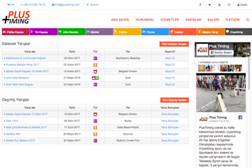 Plus Timer Web Sitesi Tasarımı