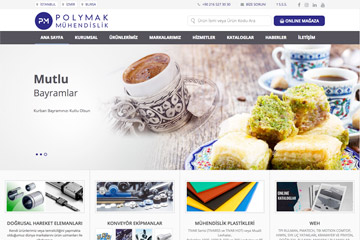 Polymak Web Sitesi Tasarımı