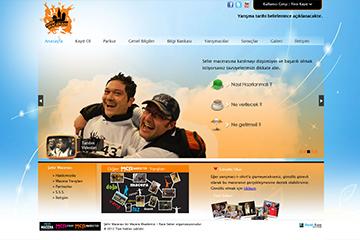 Şehir Macerası Web Sitesi Tasarımı