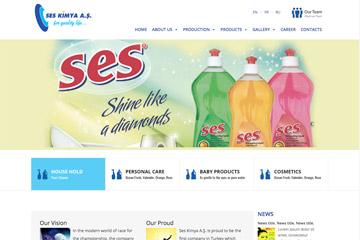 Ses Kimya Web Sitesi Tasarımı