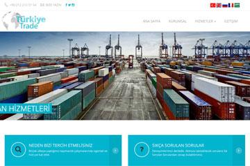 Turkey Trade Web Sitesi Tasarımı