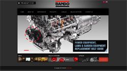 Yeni yüzü ile Bando Kayış web sitesi yayında.