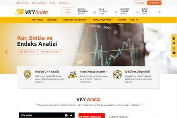 Vakıf Yatırım Web Sitesi Tasarımı