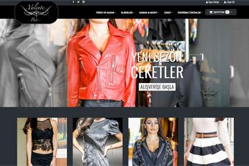 Valente E-ticaret Web Sitesi Tasarımı