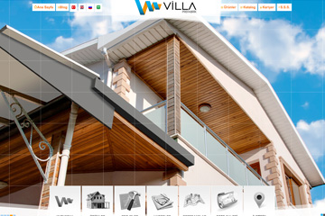 Villa Yapı Prefabrik Web Sitesi Tasarımı